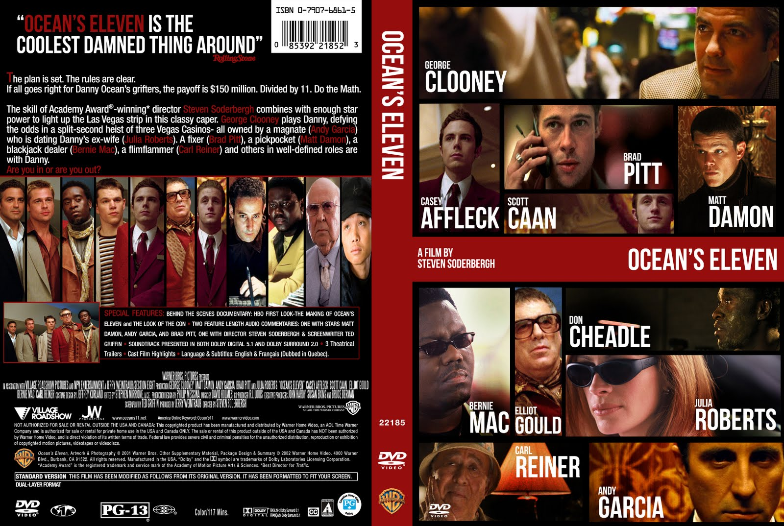 download oceans eleven 2001 720p brrip x264 english