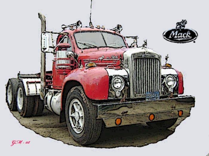 1965 Mack B-61