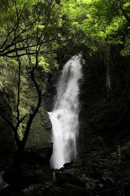 榛原郡川根本町下泉の不動の滝 名瀑