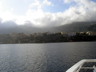 Leaving Sorrento in the early morning