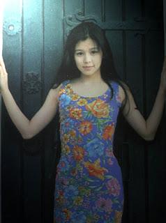 Vivian at Villa San Michele in 1993