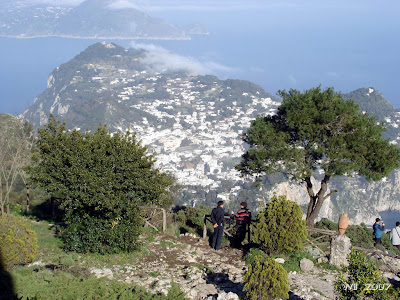 Capri and Mount Tiberio