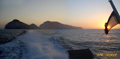 Farewell to the Isle of Capri