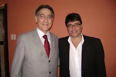 Vereador Ramiro Grossi com Fernando Pimentel.
