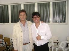 Vereador Ramiro Grossi com o Deputado Estadual Durval Angelo.