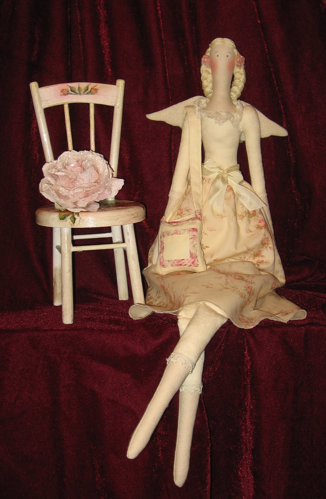 Текстильные куклы - мастер-класс: как 47