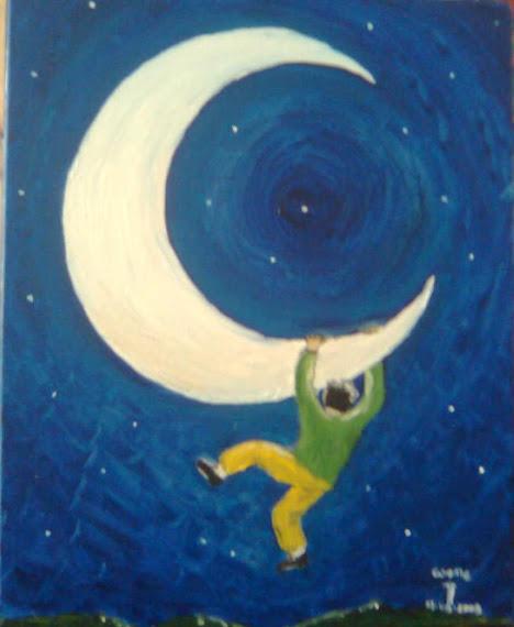 En los cuernos de la luna