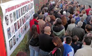 Acto conmemorativo en el II Aniversario del derribo de la Cárcel de Carabanchel