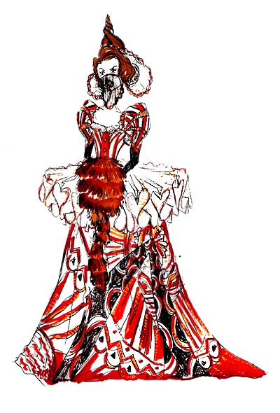 alice red queen illustrations for sermons for kids