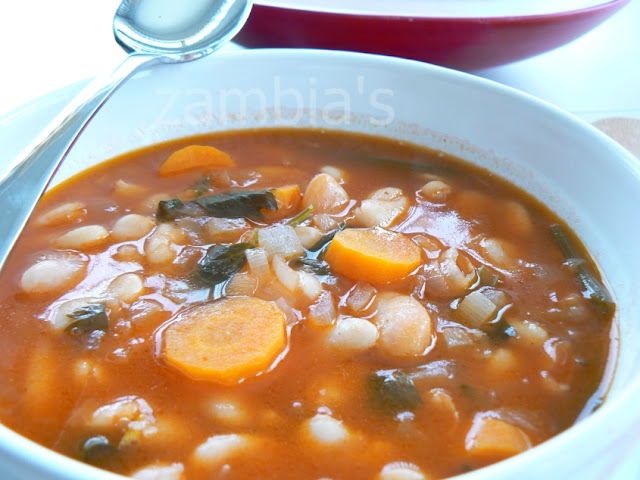 Greek Bean Soup