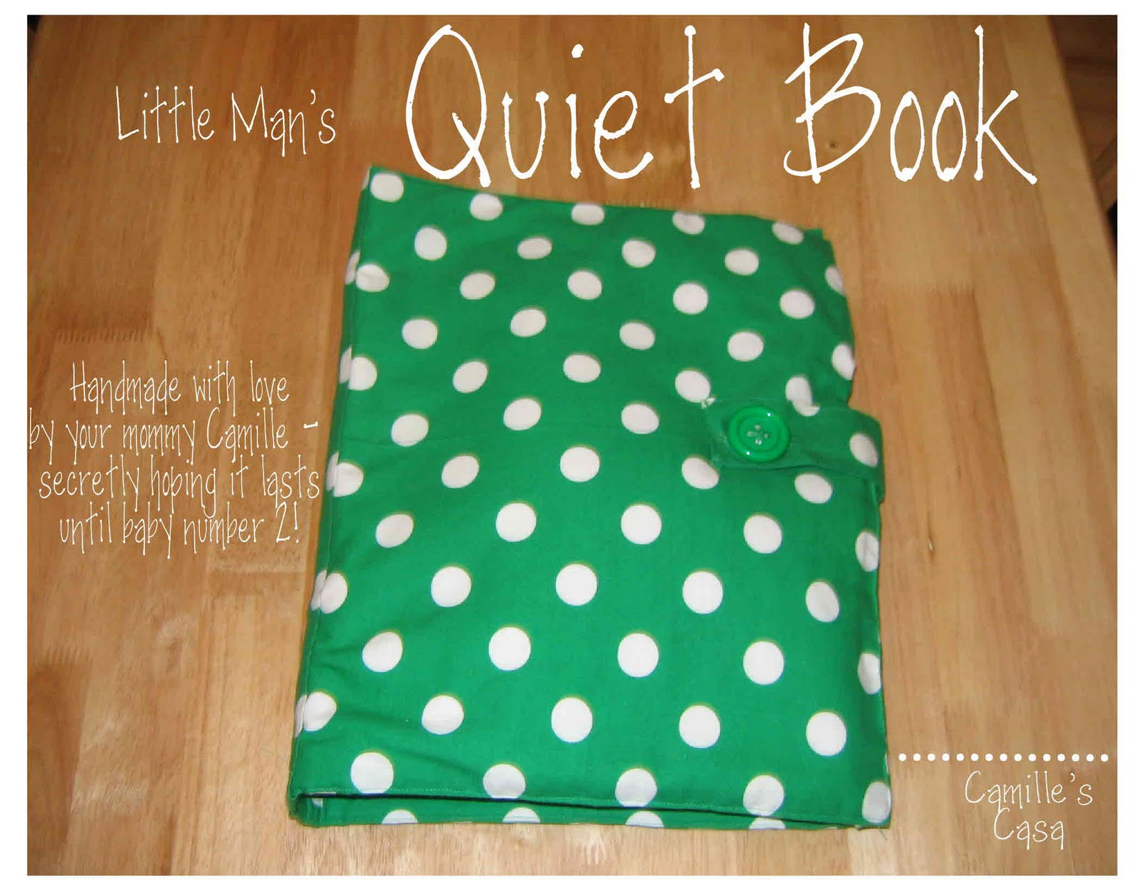 Quiet Book Cover Pattern : Camille s casa quiet book revealed