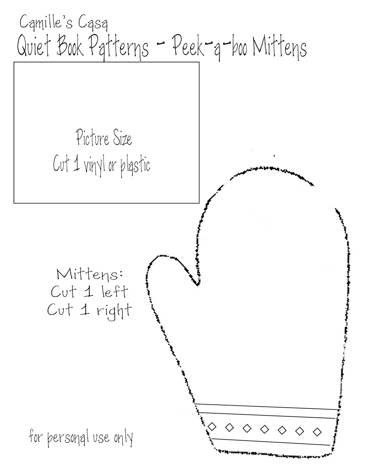 Free Mitten Patterns | myideasbedroom.com