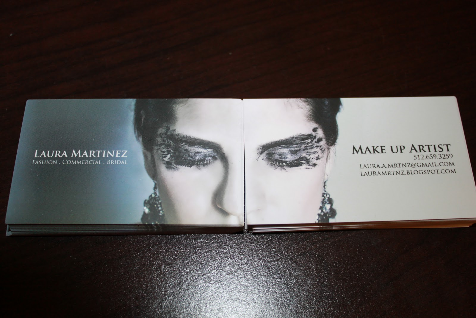 Fashion art makeup elegance business cards art makeup elegance colourmoves