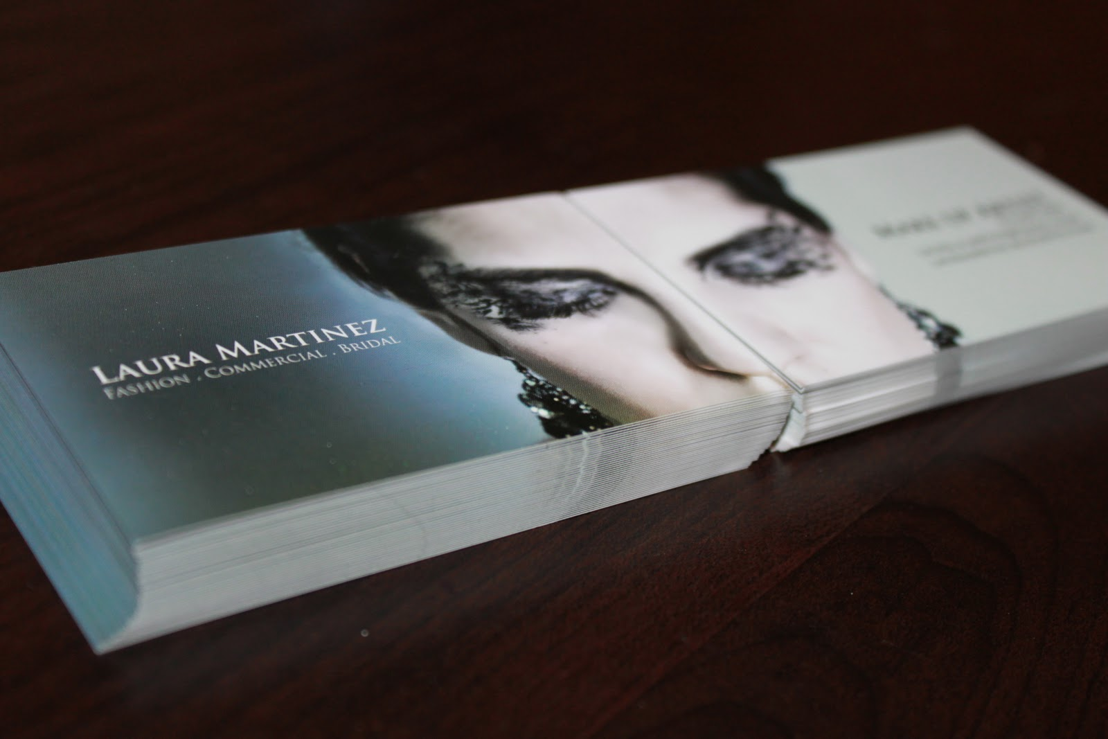 Fashion. Art. Makeup. Elegance.: Business Cards