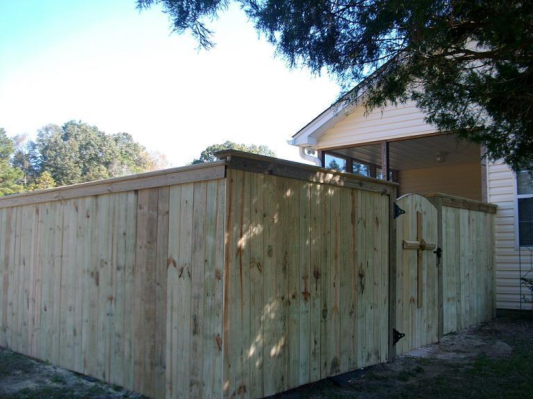Advent fence company charleston south carolina for Charleston style fence