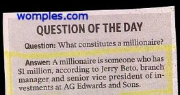 funny stupid news idiot question crazy answer on millionaire