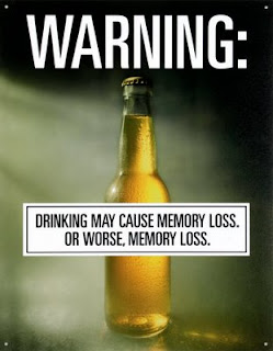 funny beer ad about memory loss and memory loss photo