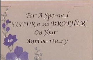 funny stupid news weird anniversary card for brother and sister photo