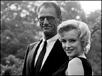 Arthur Miller and his babe.