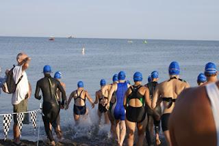 Group swim!
