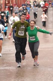 Neil and Gina run St. Malachi