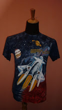 MICKEY MOUSE MISSION SPACE (TIE DYE) SIZE M