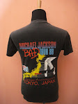 Michael Jackson Bad Tour 88 (Back)