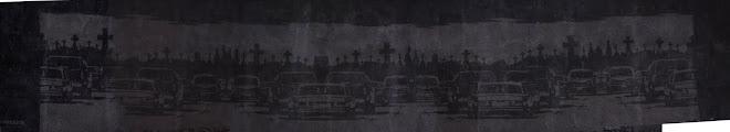 la autopista del sur (mural en est. colegiales inspirado en el texto de julio cortázar)