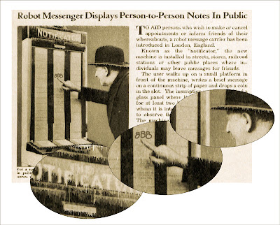 robot messenger p2p
