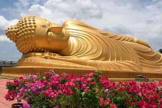 Reclining Buddha, Yo Island, Songkhla