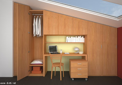arredamenti diotti a&f - il blog su mobili ed arredamento d ... - Costruito Nel Design Armadio