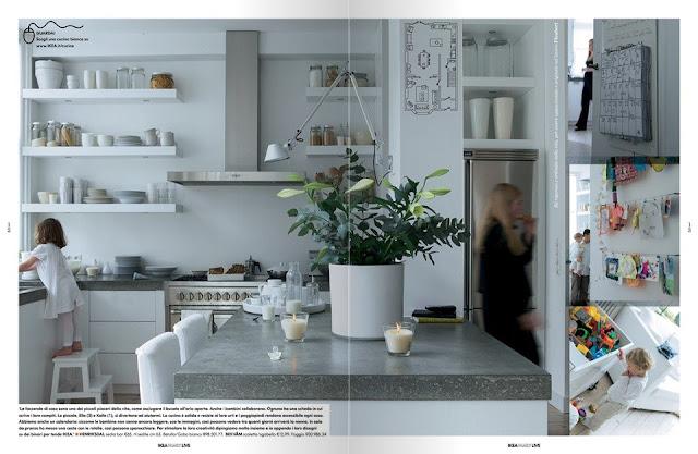 Shabby chic interiors cucina ikea
