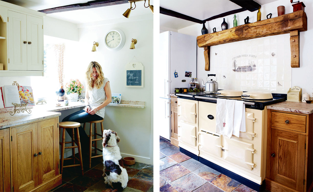 In cucina }   shabby chic interiors