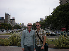 Kevin and Paul in Buenos Aires!
