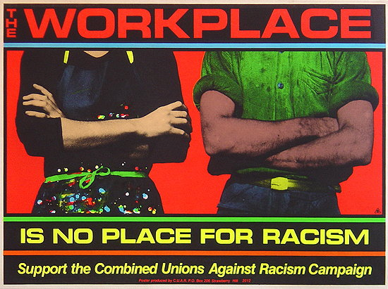 racism workplace A heated exchange of racial references on love and hip hop brings to light instances of industry racism here's how to deal in your office.