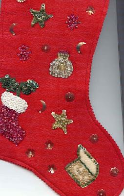 gold country girls Felt Christmas Stockings