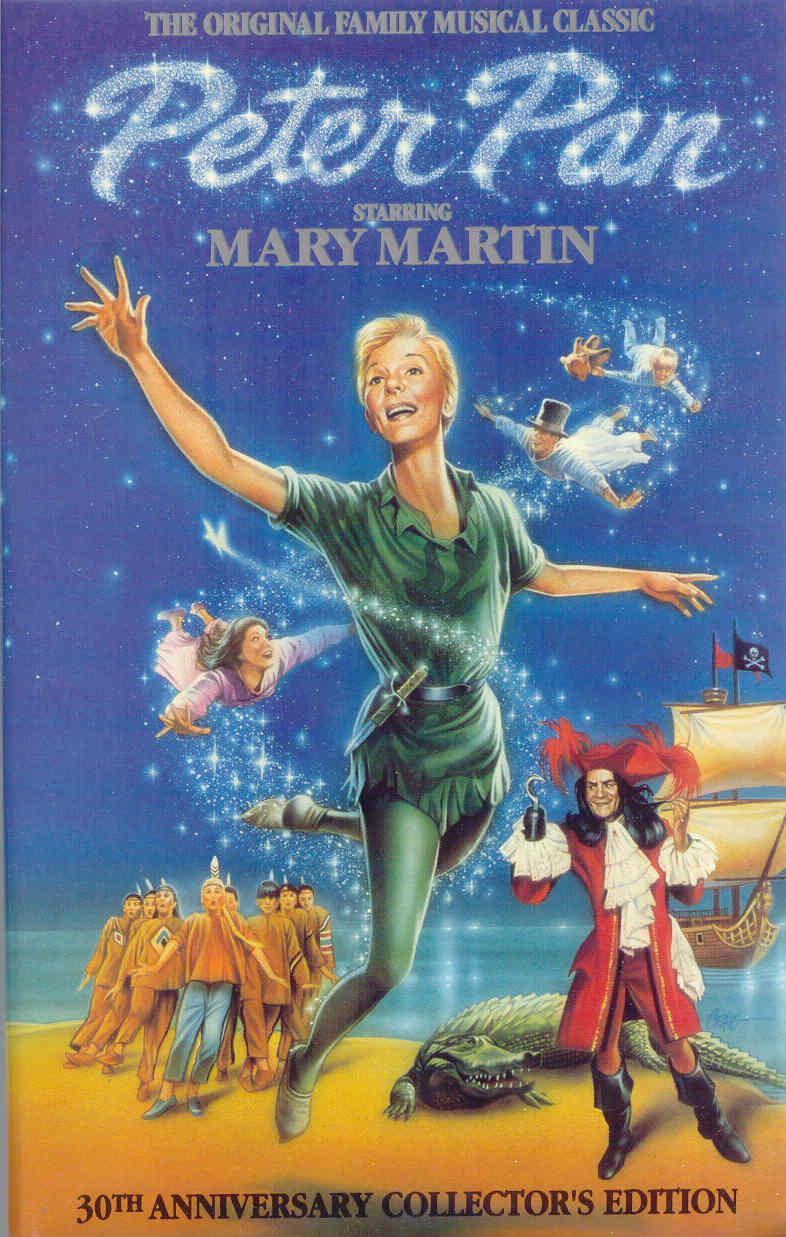 Gold country girls mary martin as peter pan - Image peter pan ...