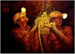 Trabajando en la mina