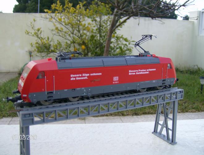 Locomotia Electrica Piko BR 101