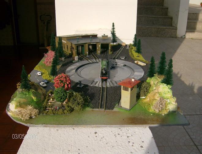 Diorama Roda + Cocheira