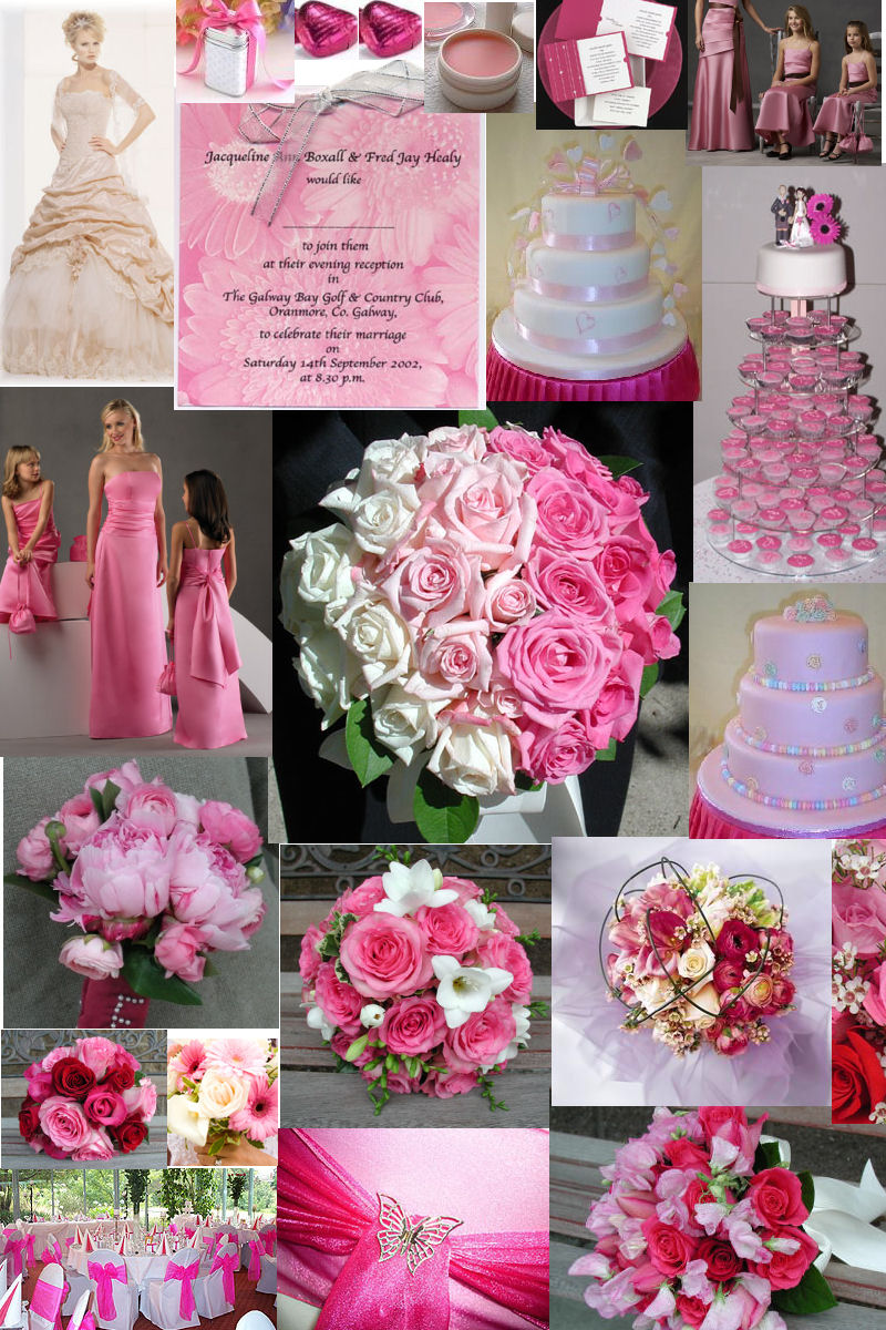 and pink wedding -#main