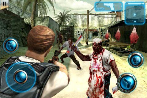 Jogo Resident Evil 5? para iPhone. O jogo se passa no Brasil!!! Os