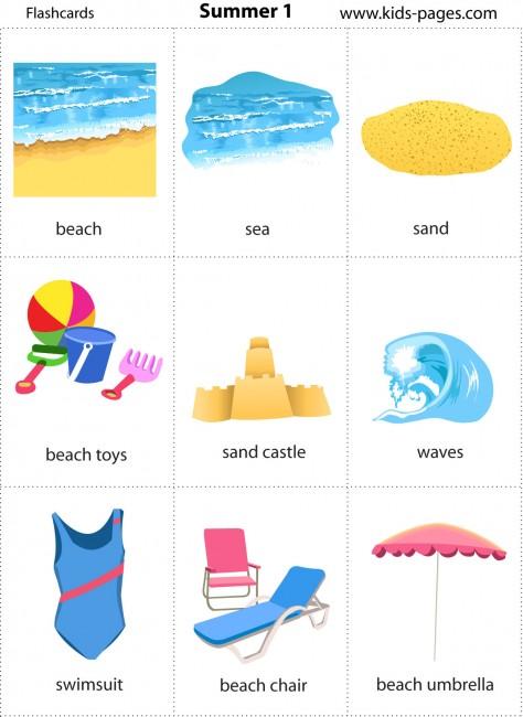 Samoga En Casa Summer Flashcards
