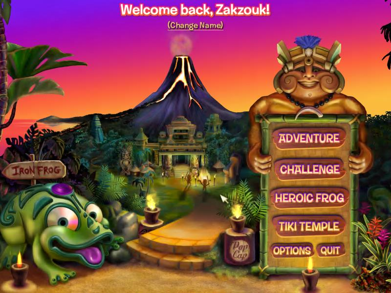 play online game jungle zuma revenge