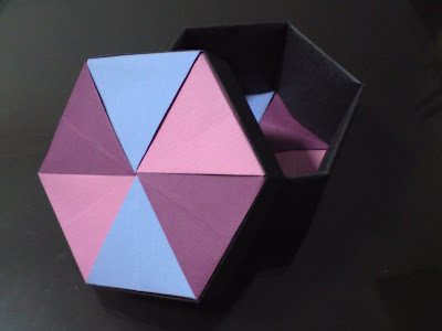 BOX HEXAGON ORIGAMI