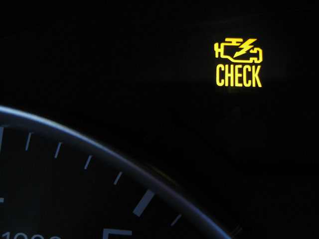 A Few Days Ago, My Wife Started The Car And Noticed The Check Engine Lamp  (also Known As The Malfunction Indicator Light Or