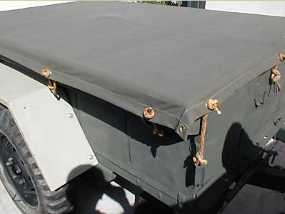 M416 Military Jeep Trailer Cavanas Cover