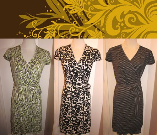 Mustard Seed Classic Wrap Dresses