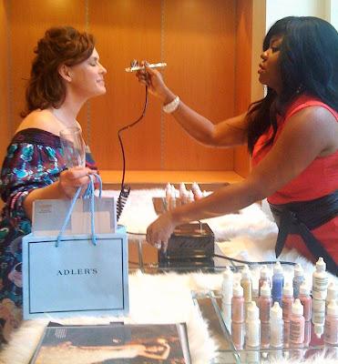 luminous airbrush makeup. The company#39;s airbrush makeup