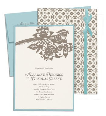 100 in soft teal and brown and perfect for a wedding in the Hamptons